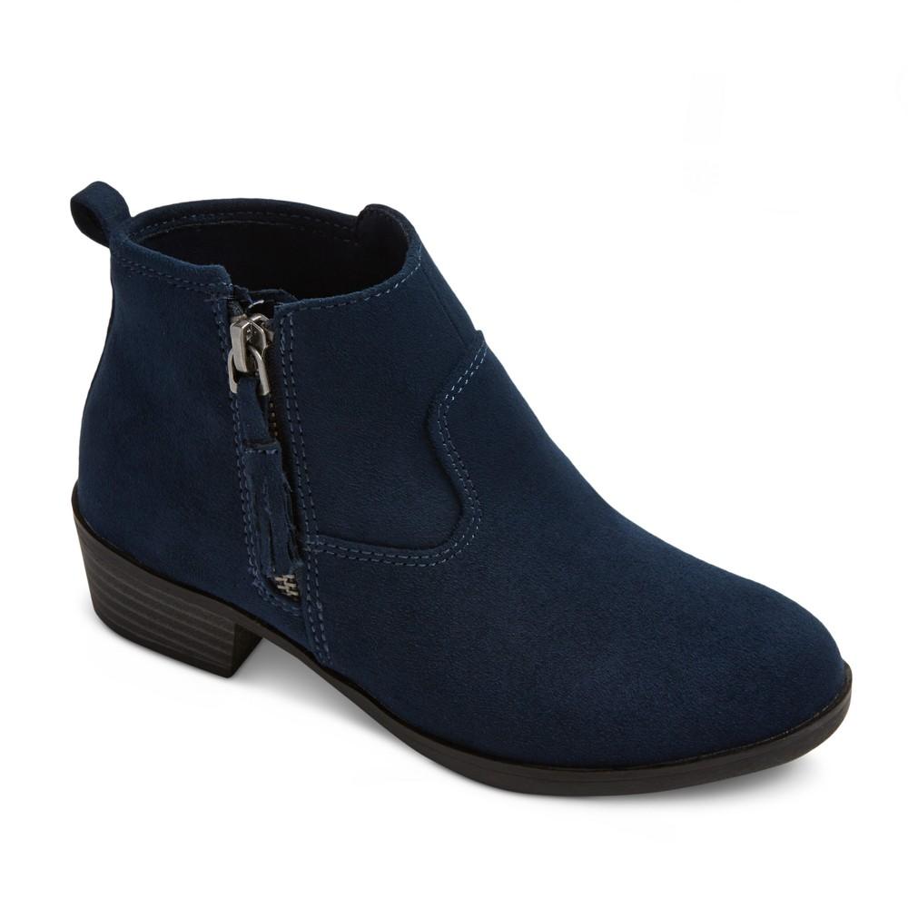 Girls Sienna Booties Cat & Jack - Navy (Blue) 3