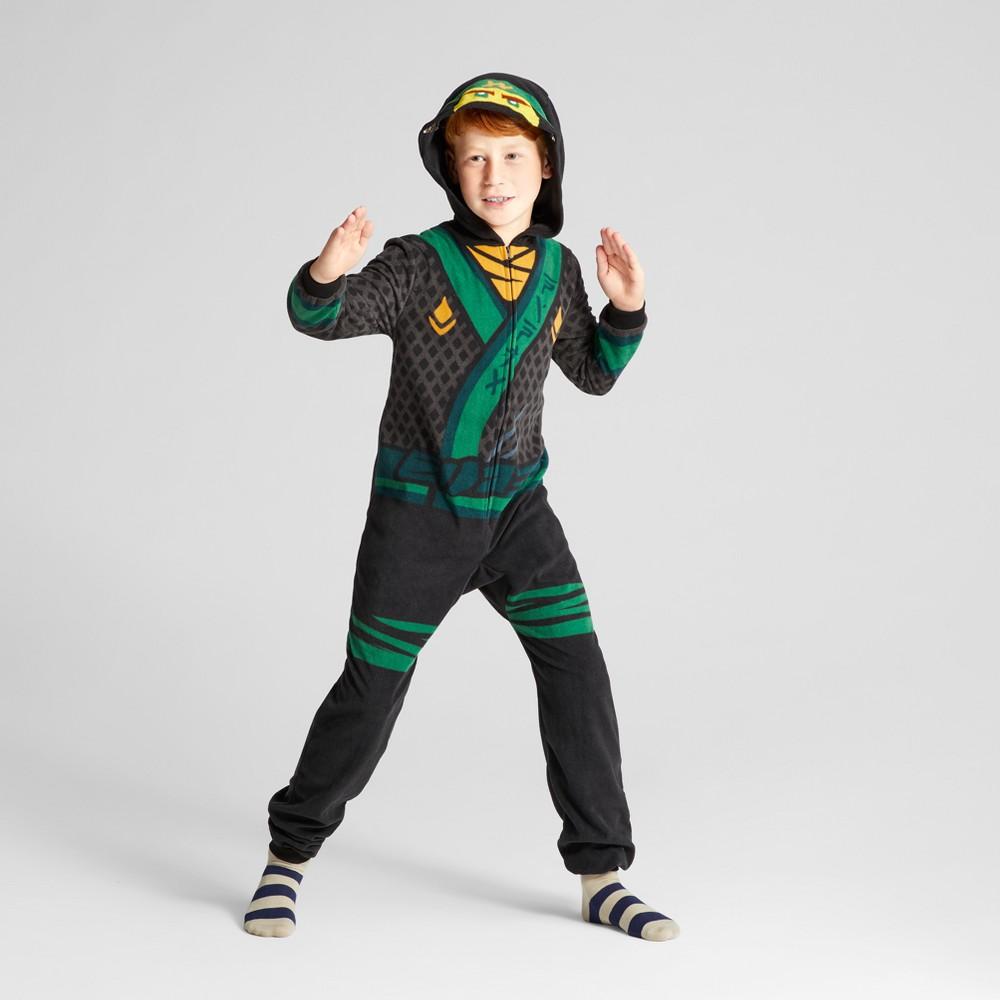 Boys Ninjago Lego Union Suit - Green S