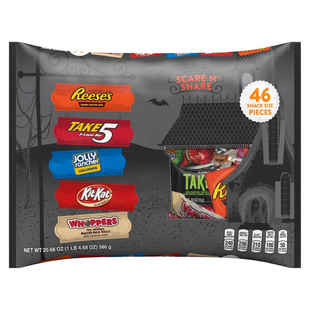 Hershey's Halloween Snack Size Scare 'n' Share Assortment - 20.68oz/46ct