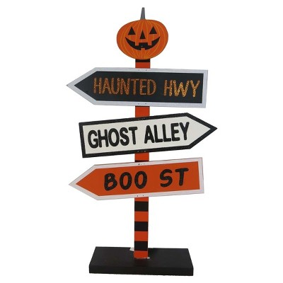 Halloween Wooden Tabletop Sign - Hyde and Eek! Boutique™