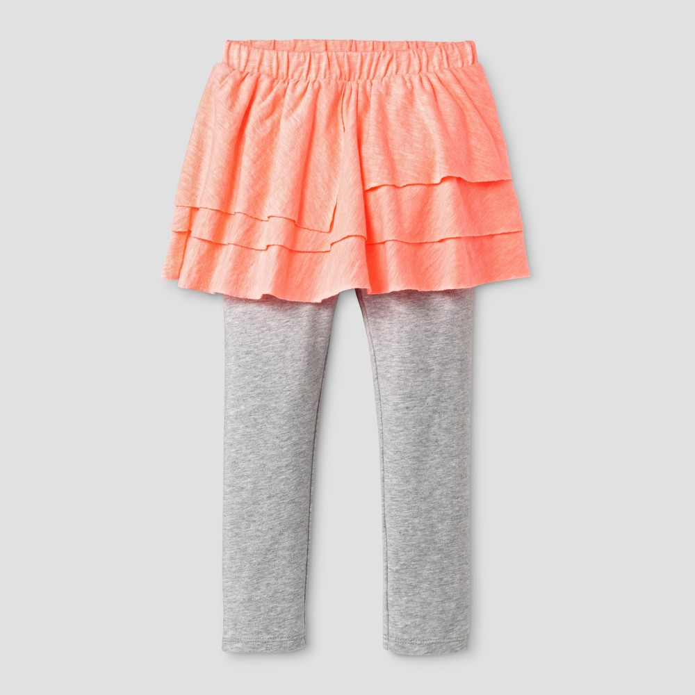 Toddler Girls Skegging - Cat & Jack Moxie Peach 2T, Orange
