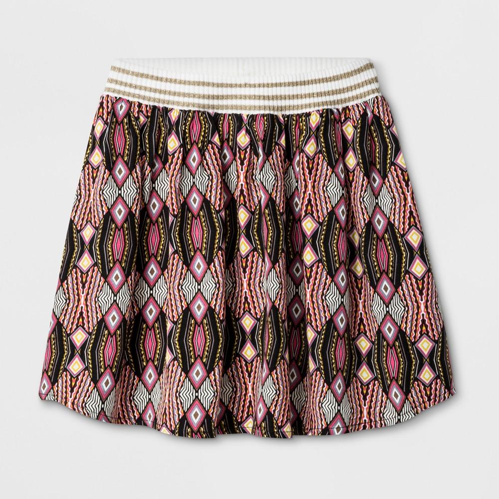 Girls' A-Line Skirt - Art Class Full Bloom Pink S (6-6X)