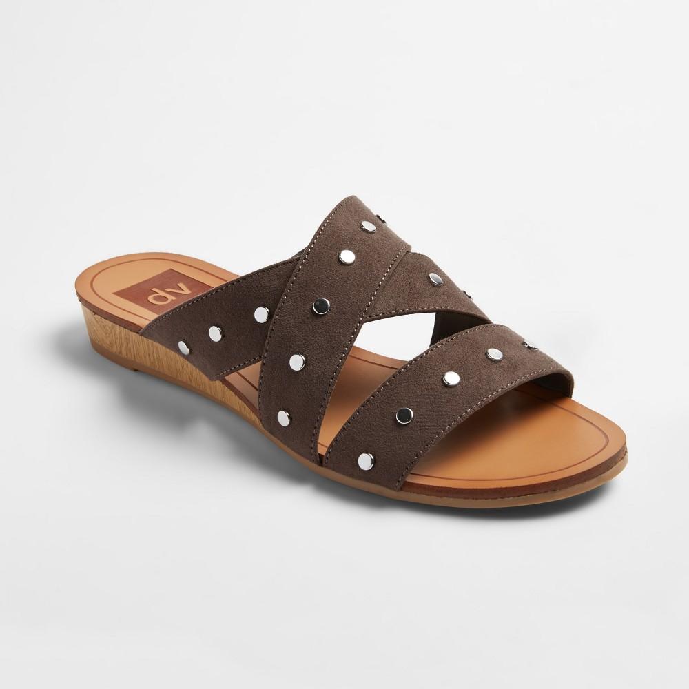 Womens dv Masha Slide Sandals - Gray 8.5