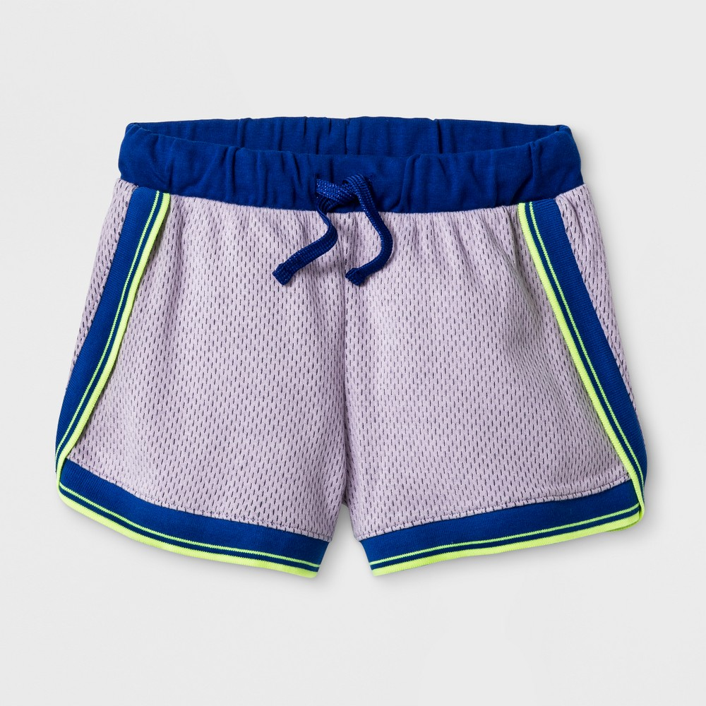 Girls Athleisure Shorts Cat & Jack Blue L
