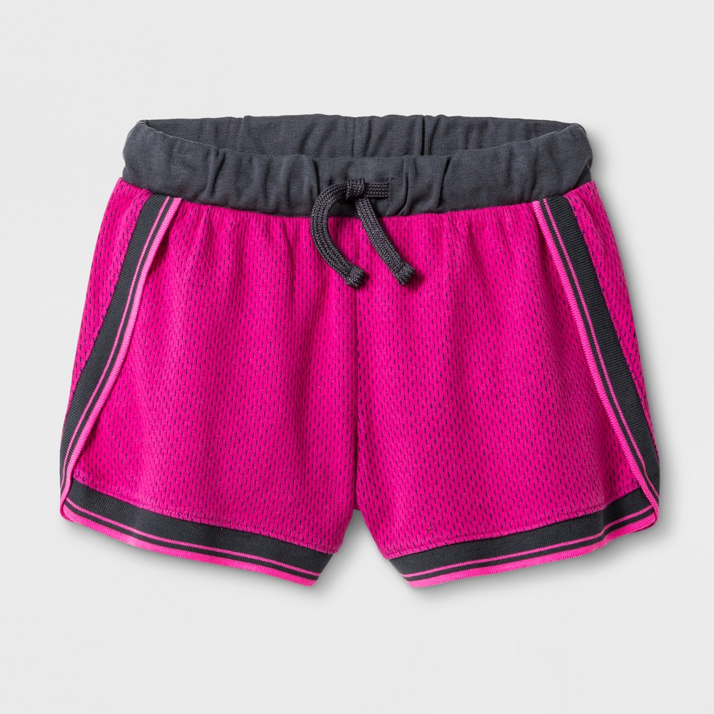Girls Athleisure Shorts - Cat & Jack Pink S