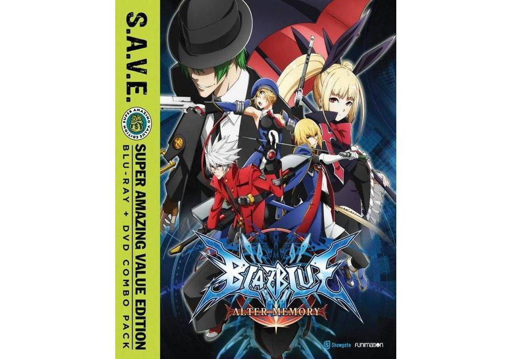 Blazblue:Alter Memory Complete Series (Blu-ray)