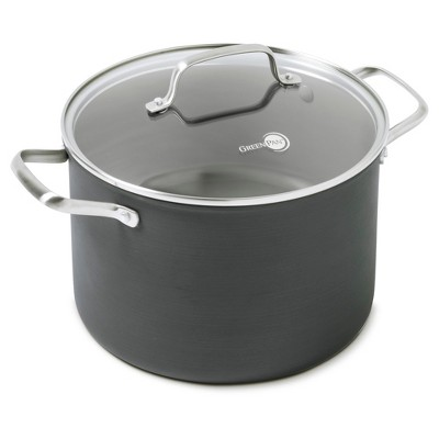 GreenPan Chatham Ceramic Non-Stick Covered Stock Pot 8qt