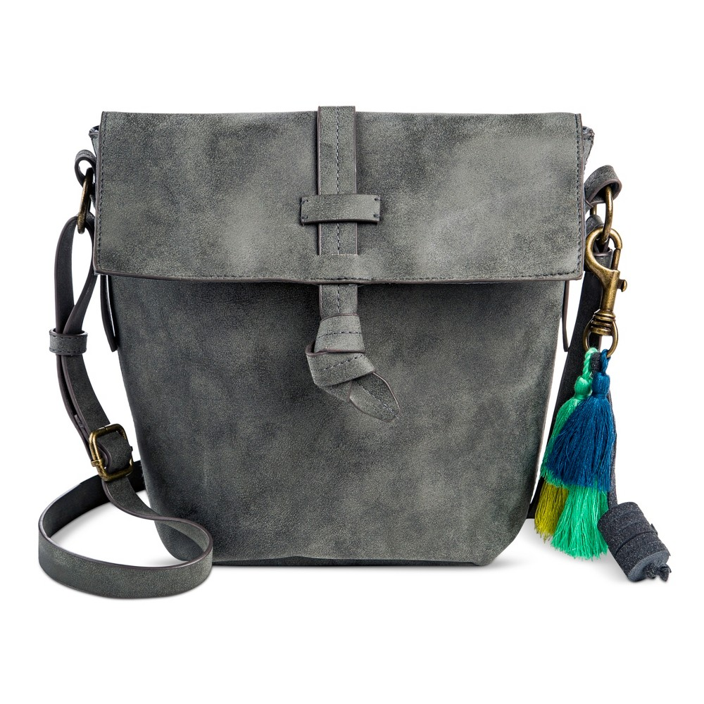 T-Shirt & Jeans Womens Mystic River Mini Bucket Handbag - Gray