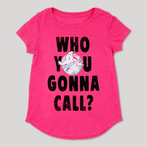 Girls' Ghostbusters T-Shirt - Pink - image 1 of 2