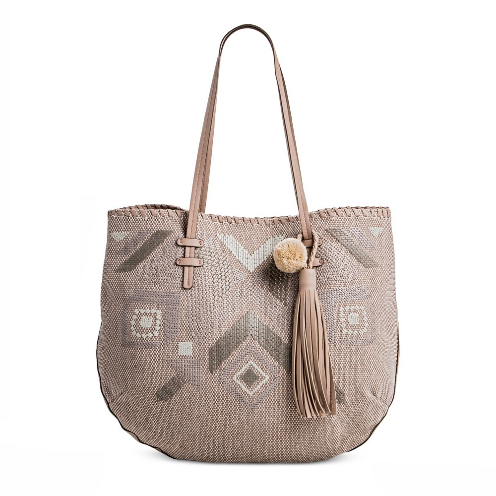 T-Shirt & Jeans Womens Natural Instincts Tote Handbag - Taupe (Brown)
