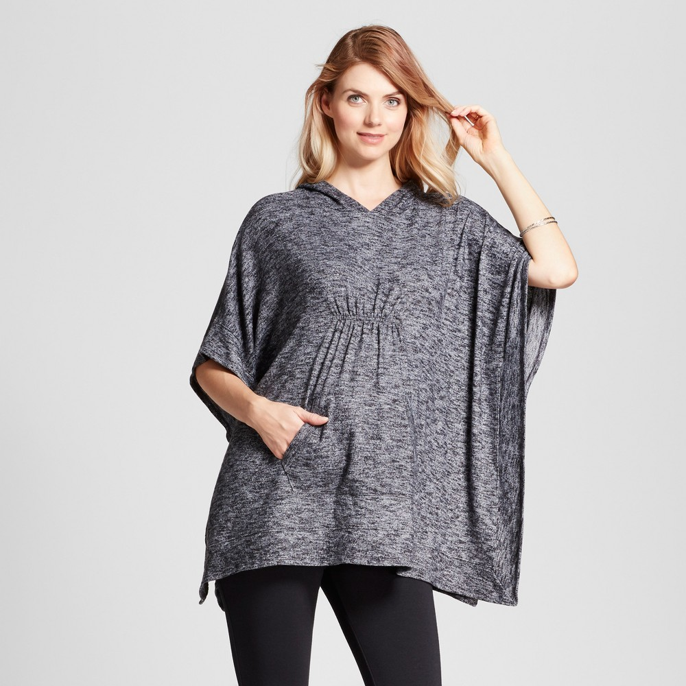 Maternity Poncho - Isabel Maternity by Ingrid & Isabel Black L, Womens