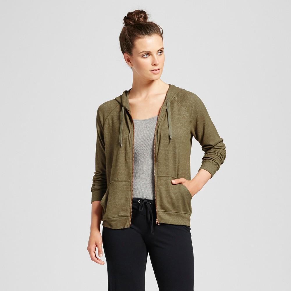 Womens Sleep Sweatshirt - Xhilaration Riverweed S, Green