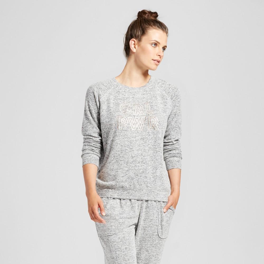 Womens Sleep Sweatshirt - Xhilaration Black XL