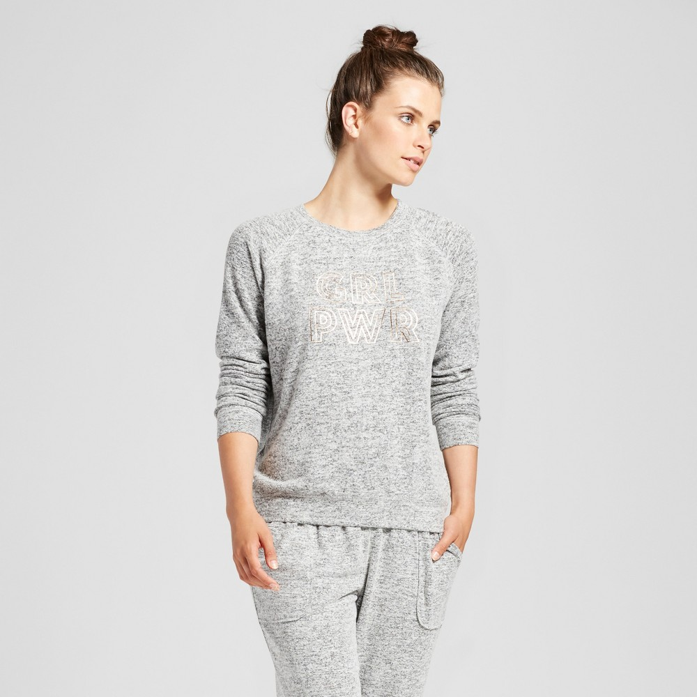 Women's Sleep Sweatshirt - Xhilaration Black S
