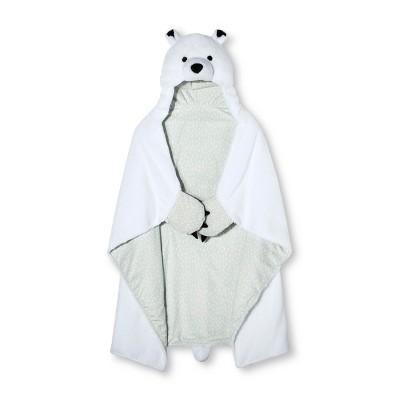 Polar Bear Hooded Blanket (40 x50 )Cream - Pillowfort™