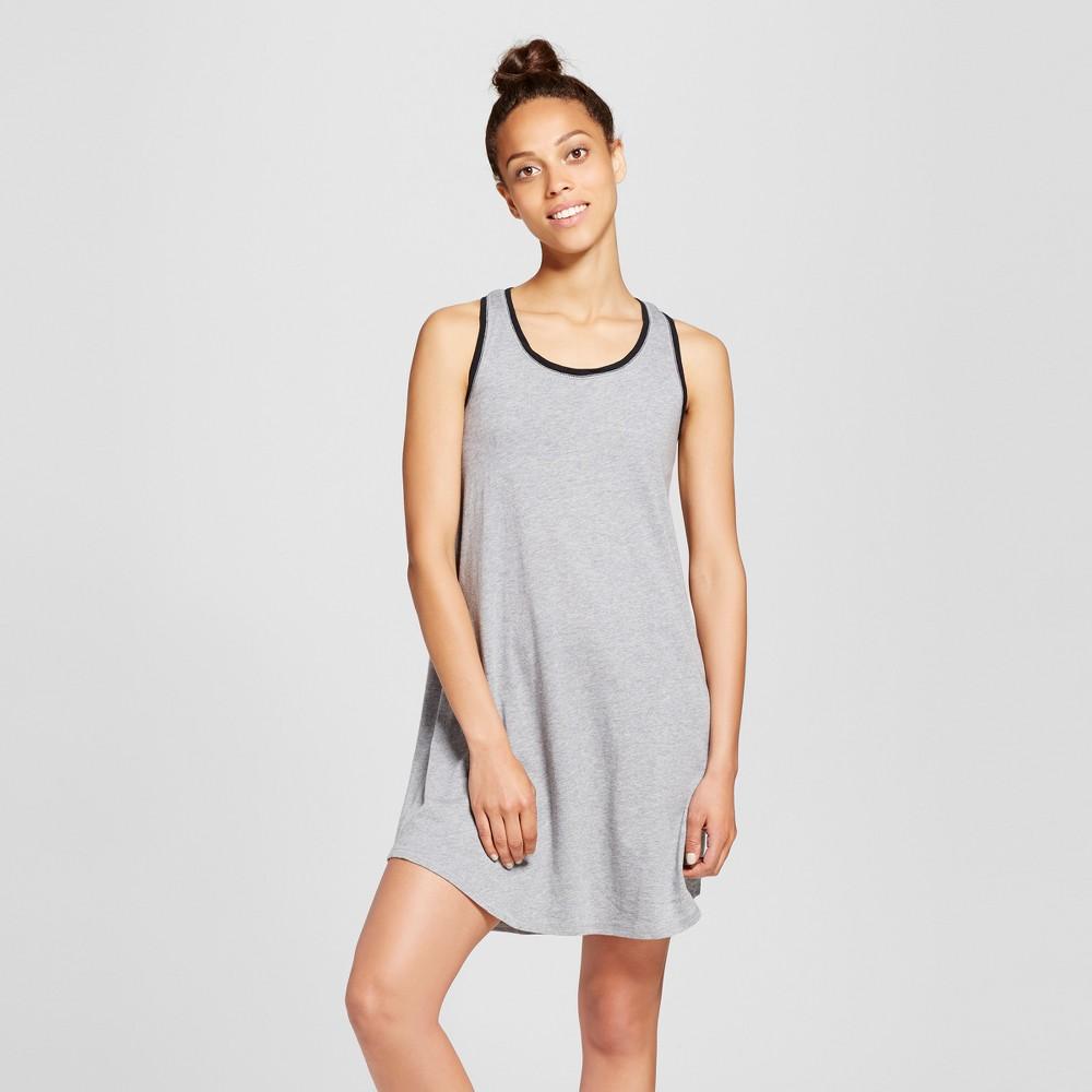 Womens Nightgowns - Xhilaration Heather Gray L