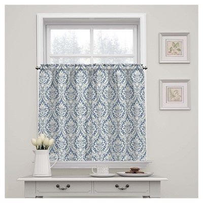 Donnington Window Tier Pair Blue (36 x52 )- Waverly