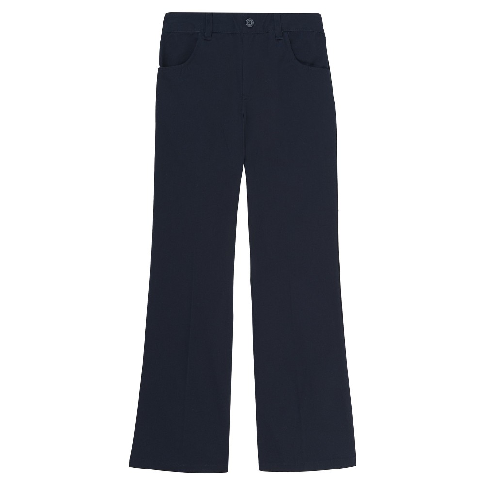 Girls French Toast Woven Pull-On Pants - Navy (Blue) 6