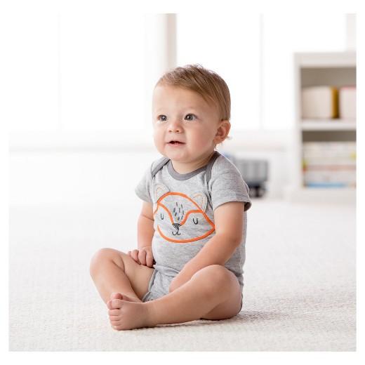 Baby Boys 5pk esies Bodysuit Fox Gerber Tar