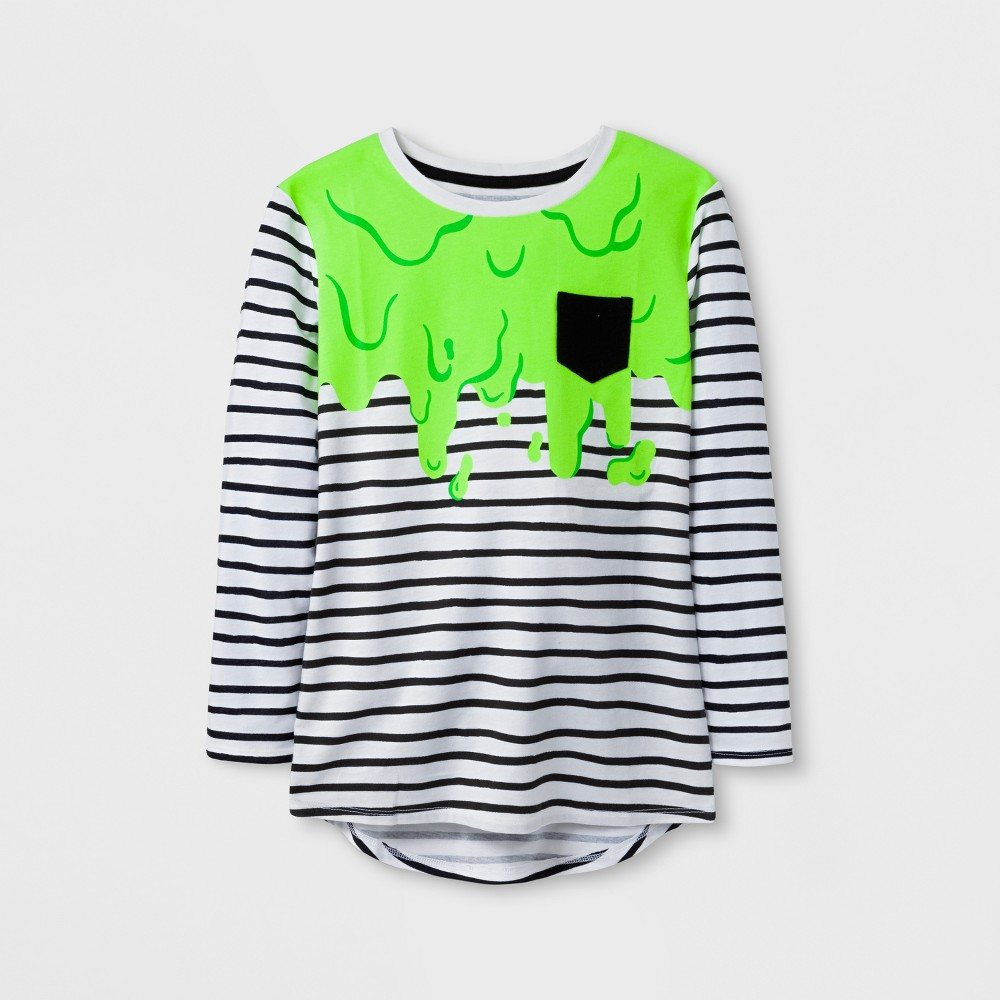 Girls Halloween Slime Long sleeve T-Shirt - Cat & Jack Black S