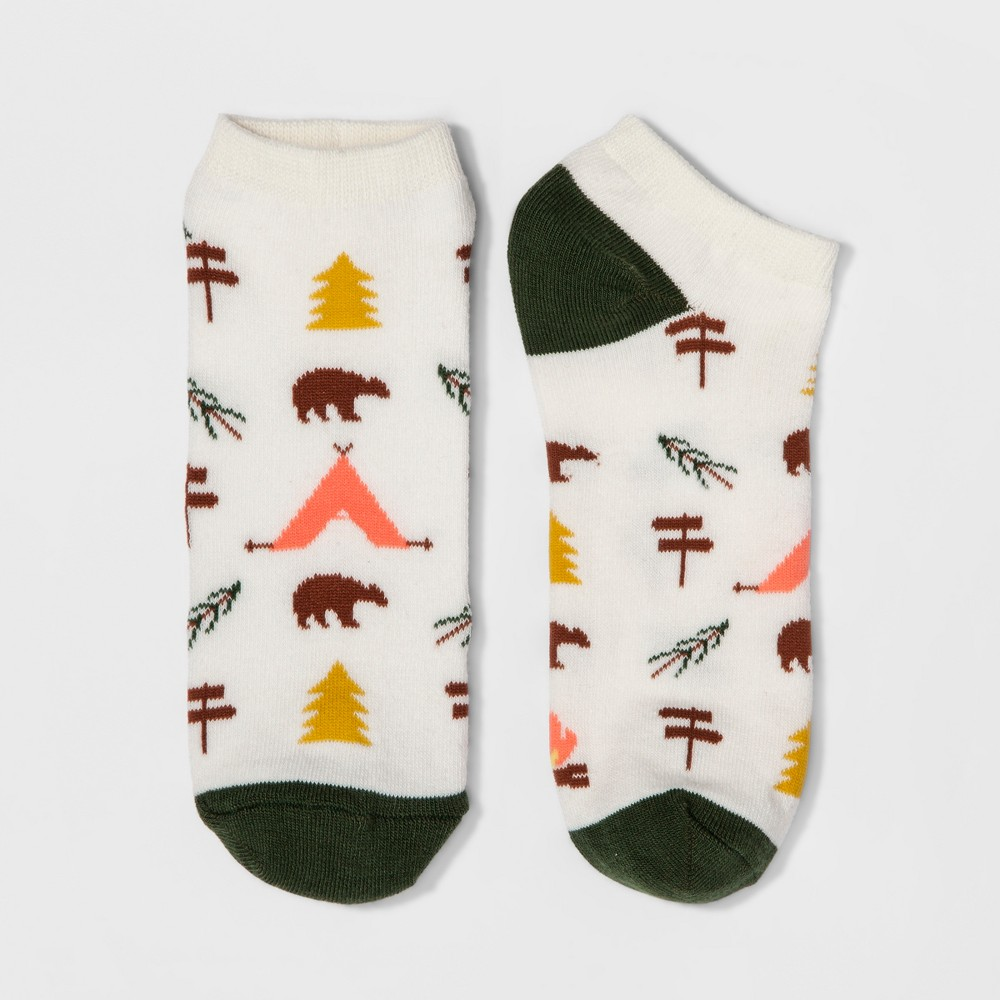 Womens Camping Casual Socks - Xhilaration One Size, Gray