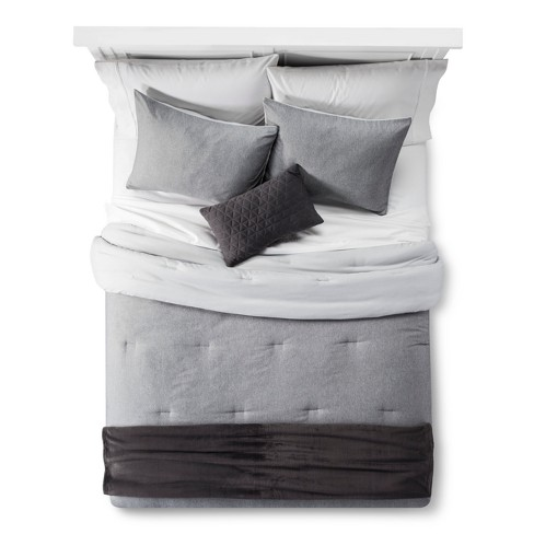 comforter hotel grande comfortergray beckham luxury goose down collection alternative products
