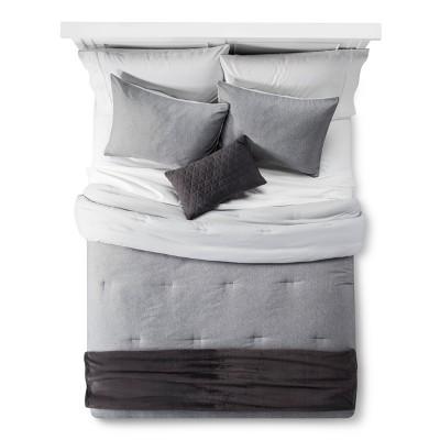 gray heather comforter set room essentials