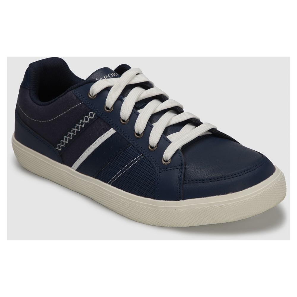 Mens S Sport by Sketchers Alik Athletic Shoes - Navy 8, Blue White