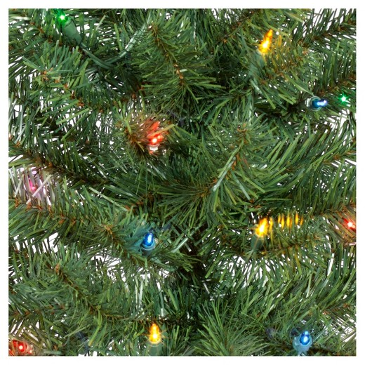 3pk 2ft prelit artificial christmas pathway trees alberta spruce multicolored lights wondershop - Christmas Tree Pathway Lights