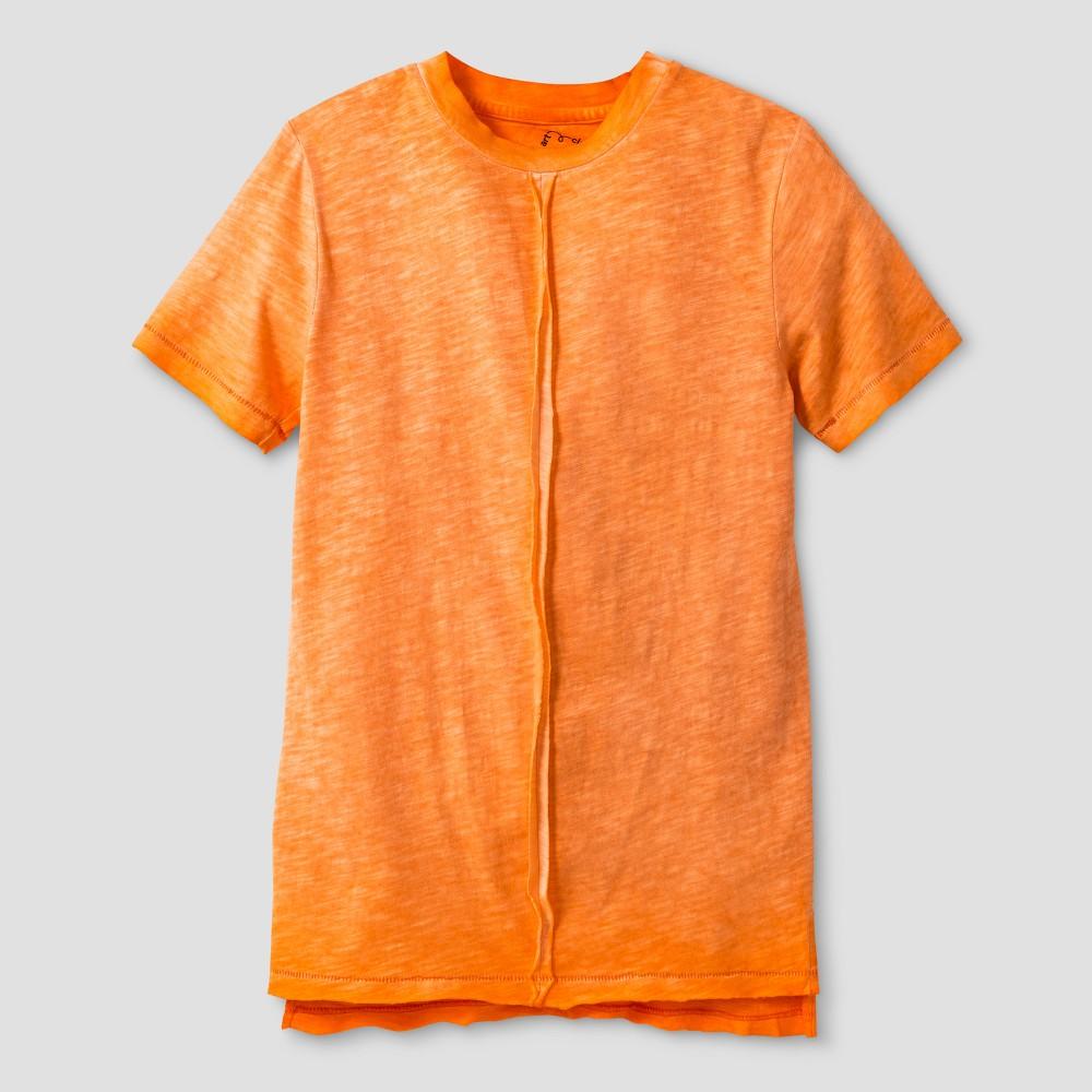 Boys' Dye T-Shirt - Art Class Orange XL