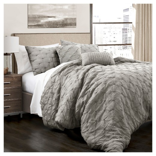 Ravello Pintuck Comforter Set 5pc Lush Decor Target