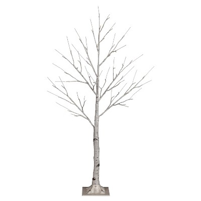 Philips 4ft Prelit Artificial Christmas Birch Twig Tree Warm White LED Lights