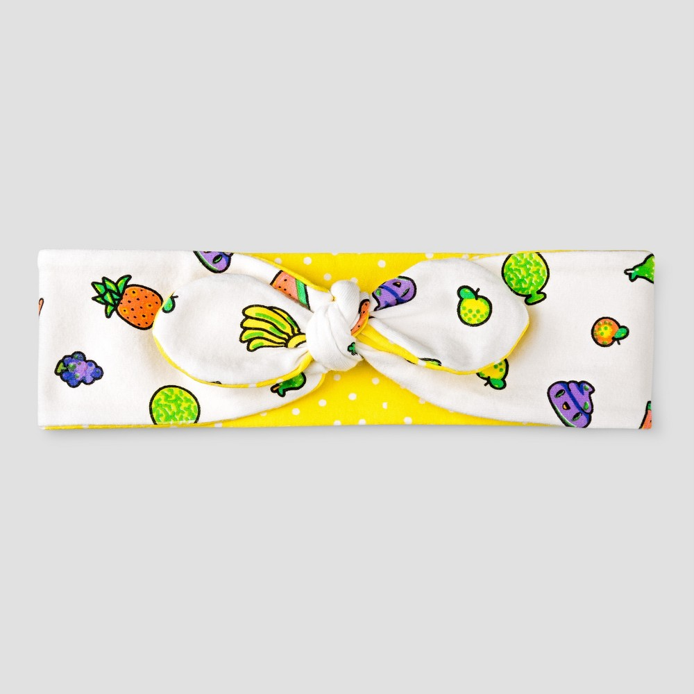 Girls Toca Boca Fruit Headband - White/Yellow