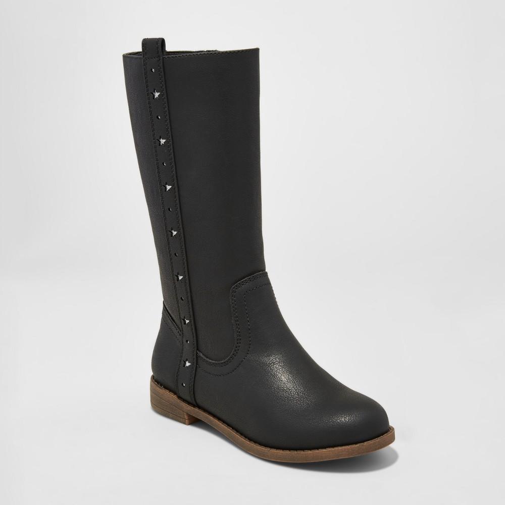 Girls Skye Riding Boots Cat & Jack - Black 6