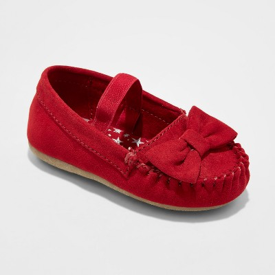 Girls' Genuine Kids® Tina Mary Jane Shoes - Red 2