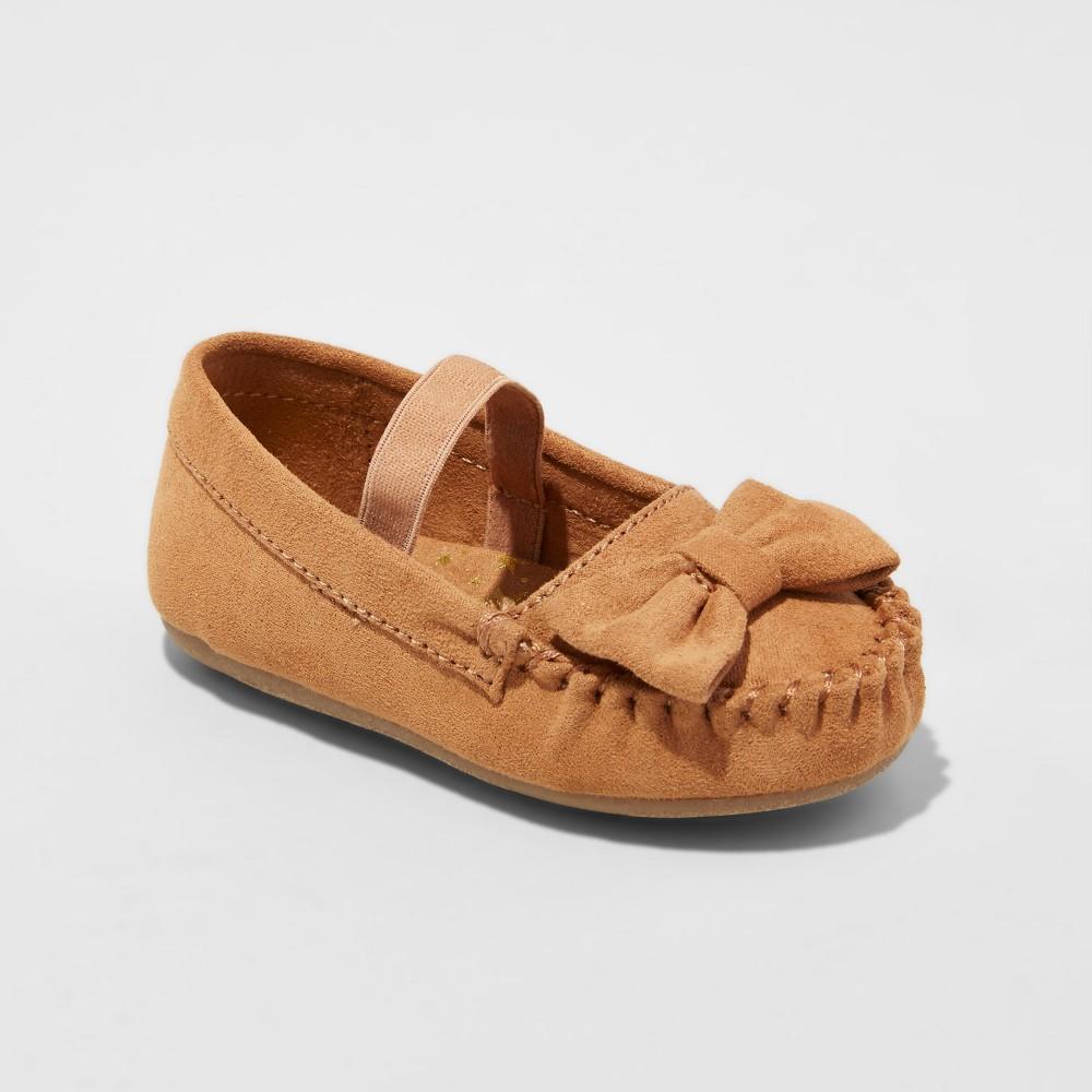 Girls Genuine Kids Tina Mary Jane Shoes - Brown 2