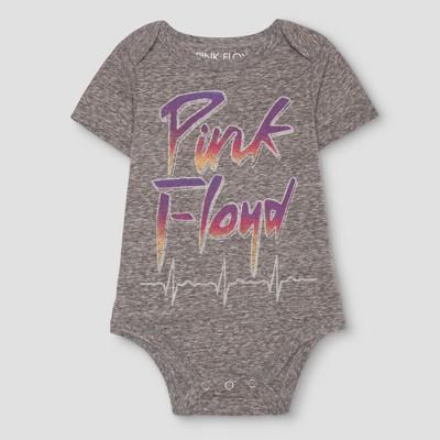 Baby Boys' Pink Floyd Bodysuit Gray - Pink Floyd® NB