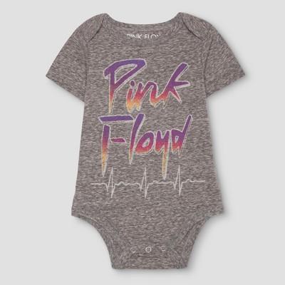 Baby Boys' Pink Floyd Bodysuit Gray - Pink Floyd® 6-9 M