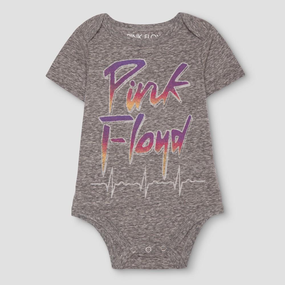 Baby Boys Pink Floyd Bodysuit Gray - Pink Floyd 12 M, Size: 12 Months