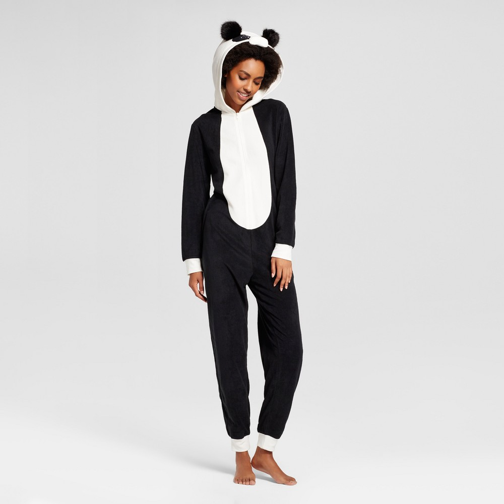 Womens Panda Union Suit - Xhilaration Black Xxl