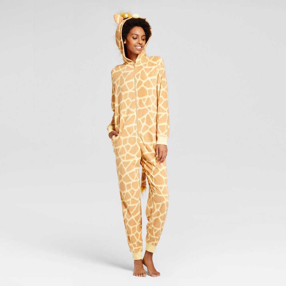 Womens Giraffe Union Suit - Xhilaration Chamois Tan Xxl, Yellow