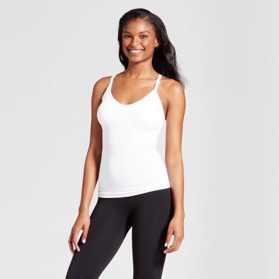 Women's Nursing T-Back Cami - Gilligan & O'Malley™ - White XL