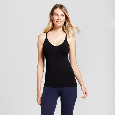 Women's Nursing T-Back Cami - Gilligan & O'Malley™ - Black S