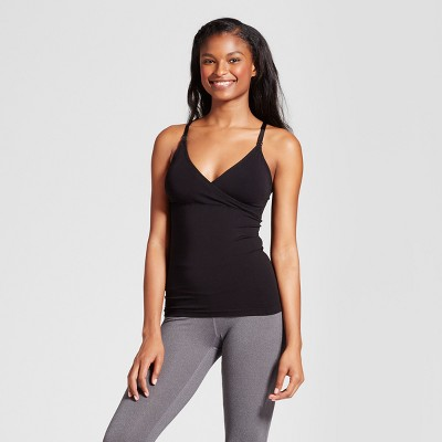 Women's Nursing V-Neck Cami - Gilligan & O'Malley™ - Black L