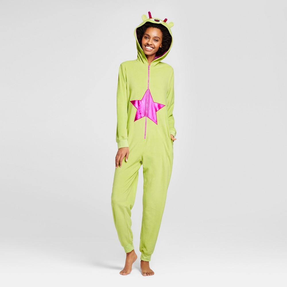 Womens Alien Union Suit - Xhilaration Lime Green S