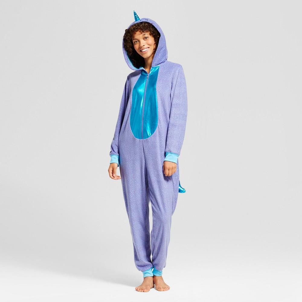 Womens Narwhal Union Suit - Xhilaration Violet XL, Purple