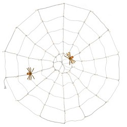 70ct Incandescent Halloween Clear Spider Web Lights - Hyde and Eek! Boutique™