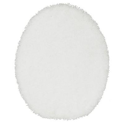 Luxury Solid Toilet Lid Cover Elongated White - Fieldcrest®