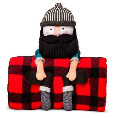 Lumberjack Throw & Pillow Buddy - Pillowfort™