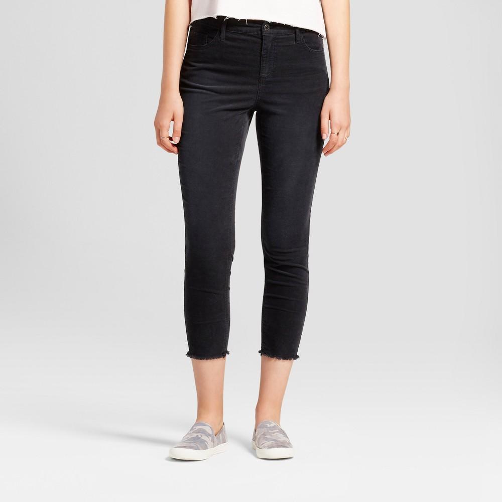 Womens Skinny Corduroy Pants - Mossimo Supply Co. Dark Gray 0